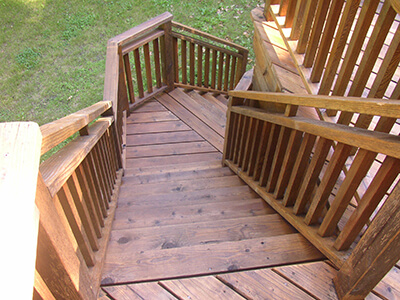 Deck and Proch Staining